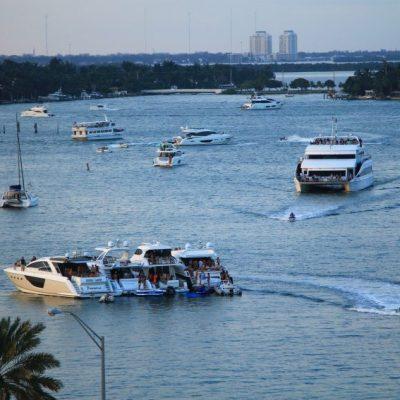 Купонът в Маями си тече 24 часа