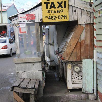 стоянка за таксита