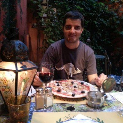 Пицария Нерон, в която завърши първия ни ден  във Флоренция