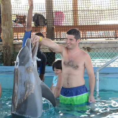 Плуване с делфини в Амбър коув, Доминиканска република