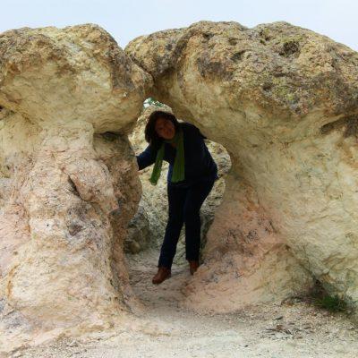 Ради си игаре на криеница около каменните гъби