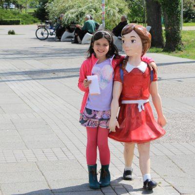 Пешеходните пътеки в Кърджали с фигури на деца