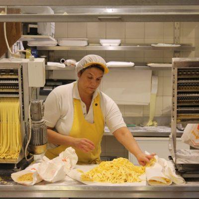 Pasta making in Florence
