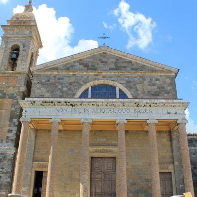 Катедралата в Монталчино