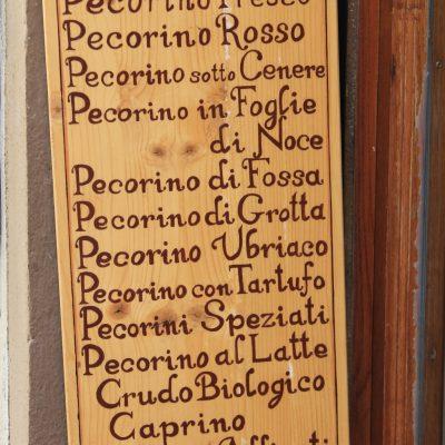 Пекорино тоскано - видове