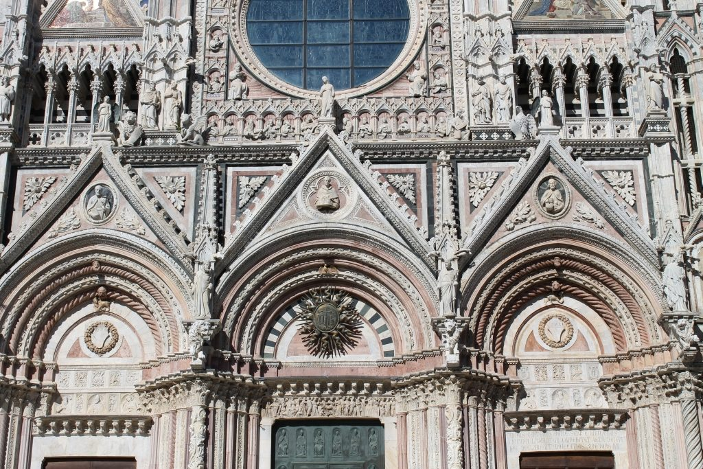 Duomo cathedral in Siena