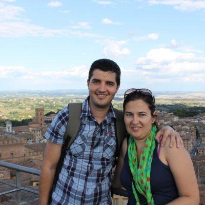 гледка към Сиена от Музея на операта