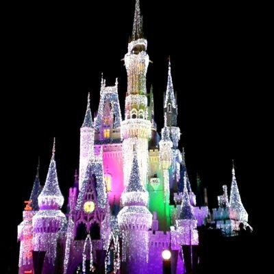 Вечерния парад и зарята в Magic Kingdom