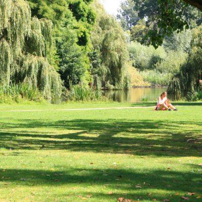 Разходка из парка Vondel в Амстердам