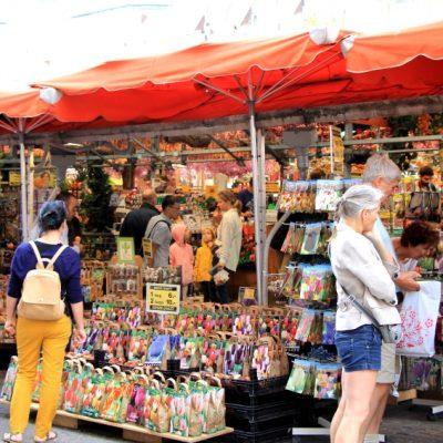 Пазарът за цветя в Амстердам