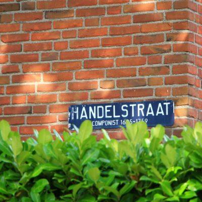 Улиците в Аалсмеер носят или ме на цвете или име на композитор