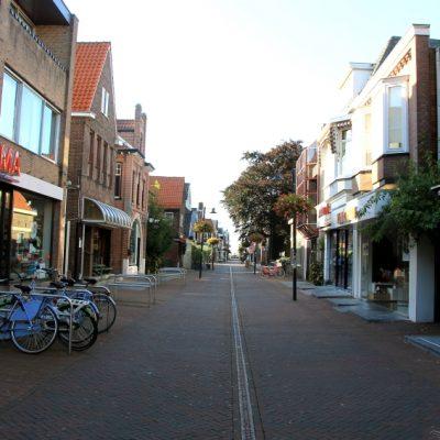 Празните улици в центъра на Аалсмеер