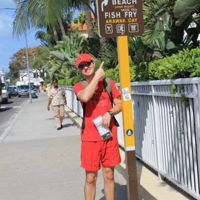 Плажът Junkanoo в Насау, Бахамски острови ни очаква