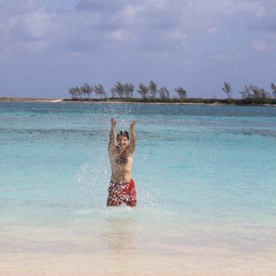 Щастие - Плажът Junkanoo в Насау, Бахамски острови