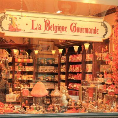 Неустоимите витрини на магазините за шоколад