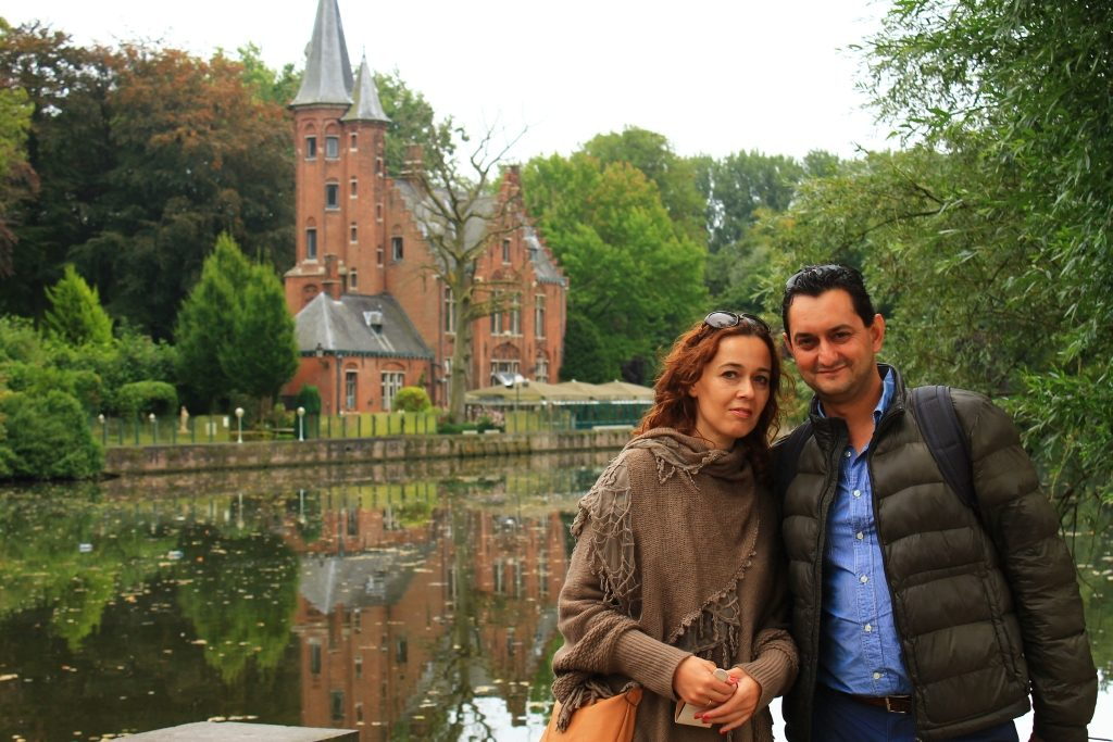 Lake of love inBrugge