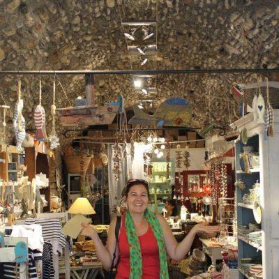 Едно от приказните магазинчета за сувенири в Монтеросо ал Маре, Чинкуе Тере