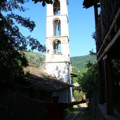 Построената през 1848г. църква Св. Никола в Ковачевица
