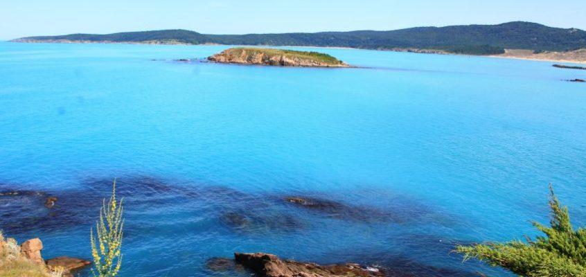 Необичайно синьото Черно море