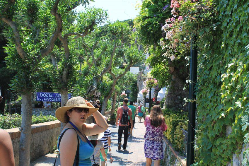 Walk in Capri