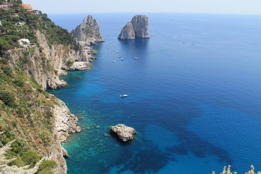 Faraglioni rocks near Capri