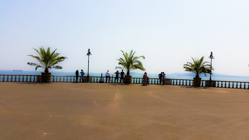The terrace in Burgas