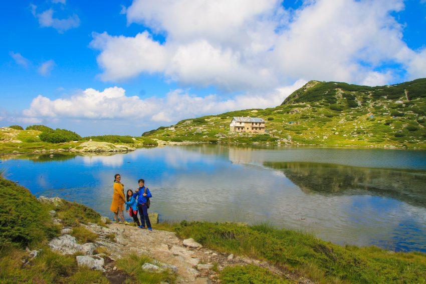 Ribnoto Rila lake