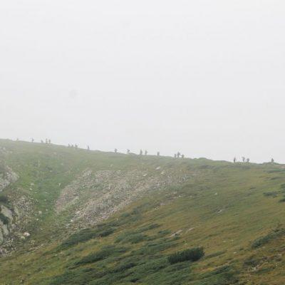 Разглеждане на Седемте рилски езера - маршрут по билото /Сухия рид/
