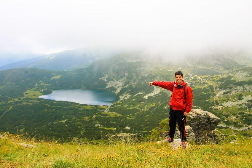 Dolnoto Rila lake