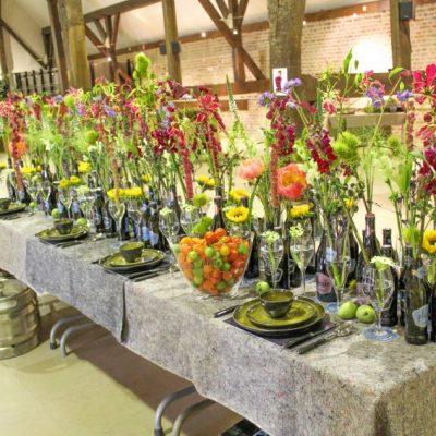 Прекрасните декорации за маса в Алден Бийзен