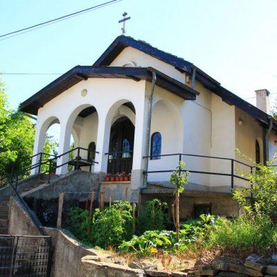 Трявна, църквата в Качаунската махала