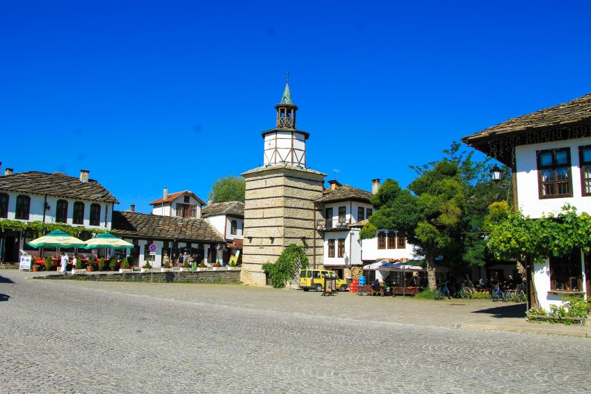 Tryavna clock tower