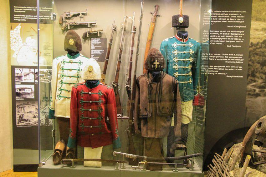 The April riot uniforms