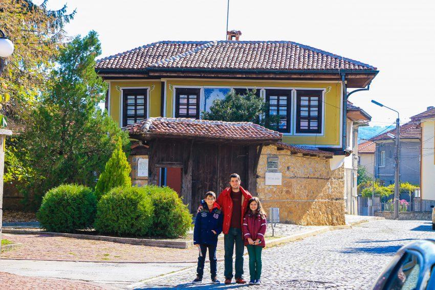 Tuteva house Panagyurishte