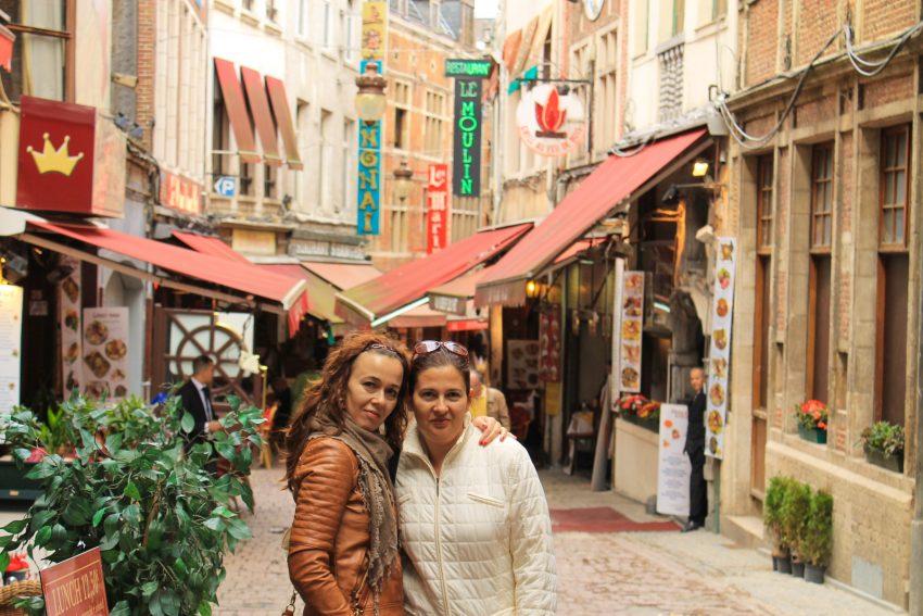 Rue des Bouchers Brussels