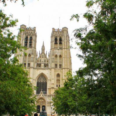Катедралата St Michel et Gudule в Брюксел