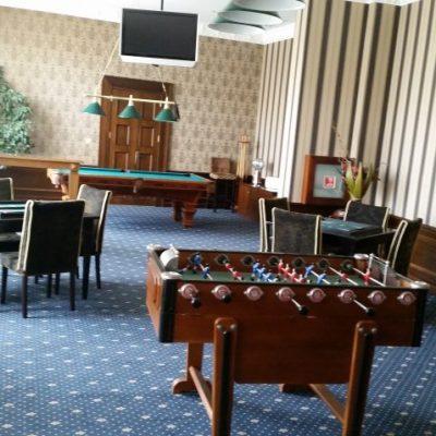 зала за тихи игри в Гранд Хотел Поморие