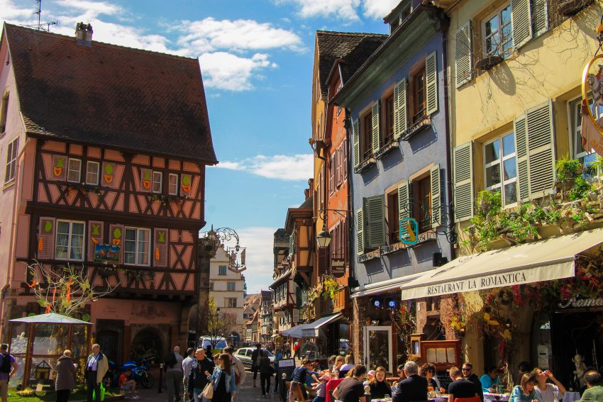 Colourful Colmar France