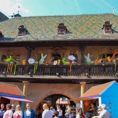 Една от най-старите сгради в Колмар - Старата митница Koifhus построена през 1480г.