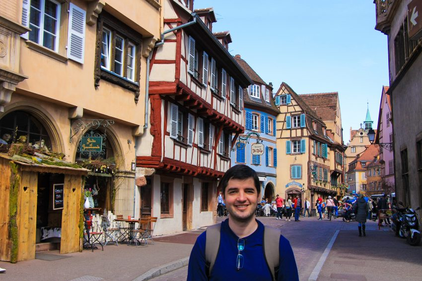 Colmar in Easter time