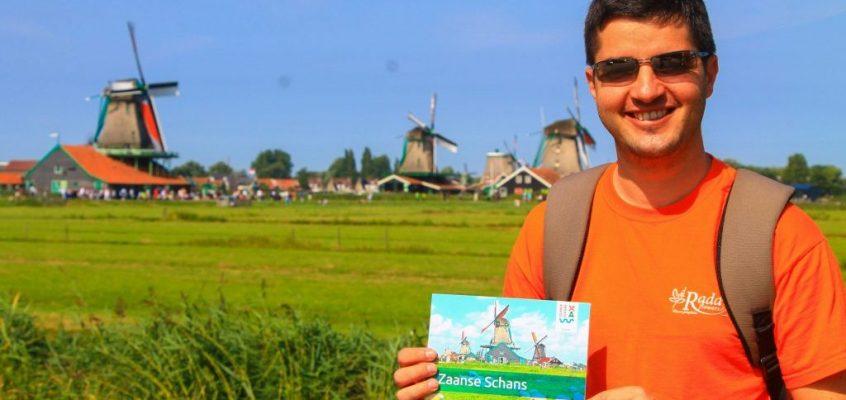Zaanse Schans – в света на вятърните мелници
