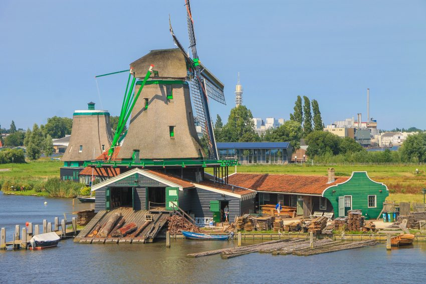 Zaanse Schans wind mills