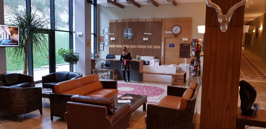 Hot Springs Lobby