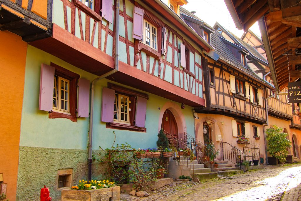 stralling around Eguisheim