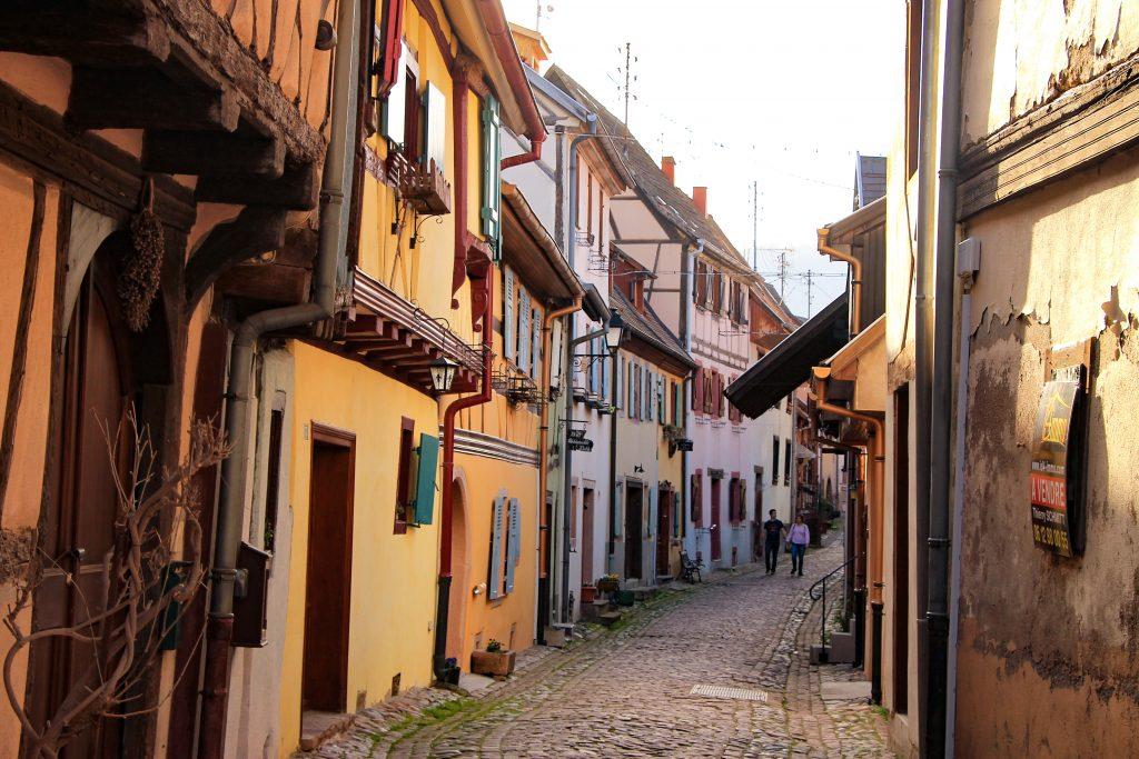 streets in Eguisheim