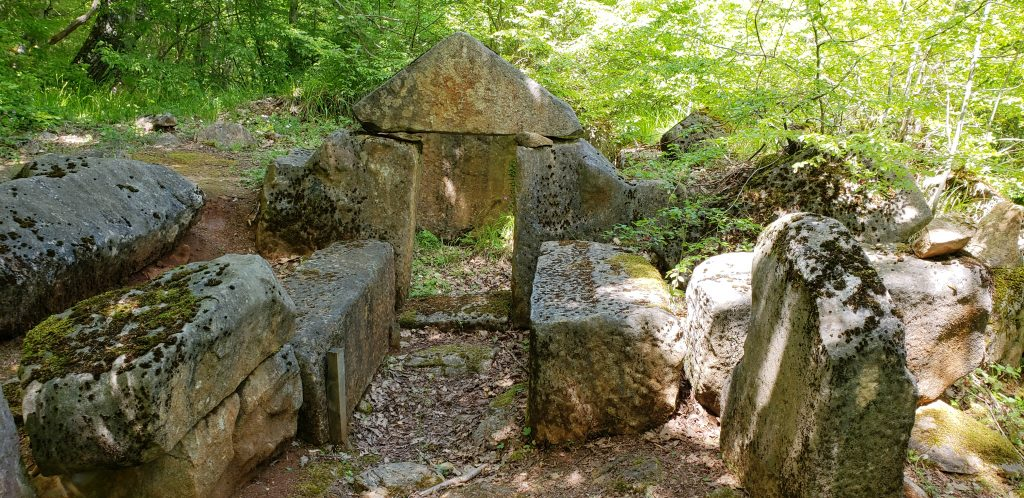 Ancient Thracian beehive Tomb in Strandzha