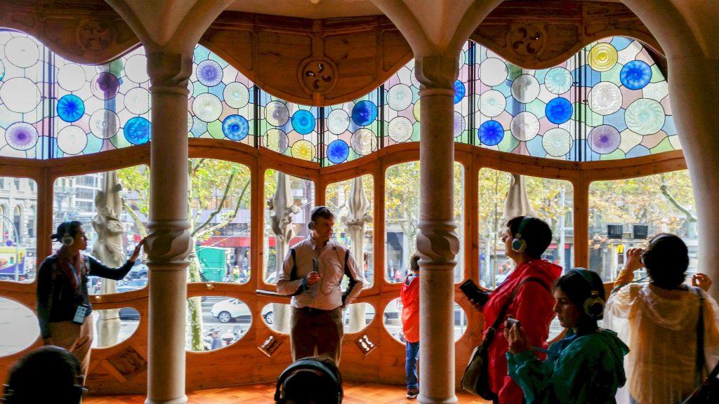 Inside Casa Batllo Barcelona