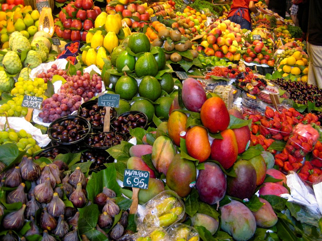 Barcelona La Rambla La Boqueria
