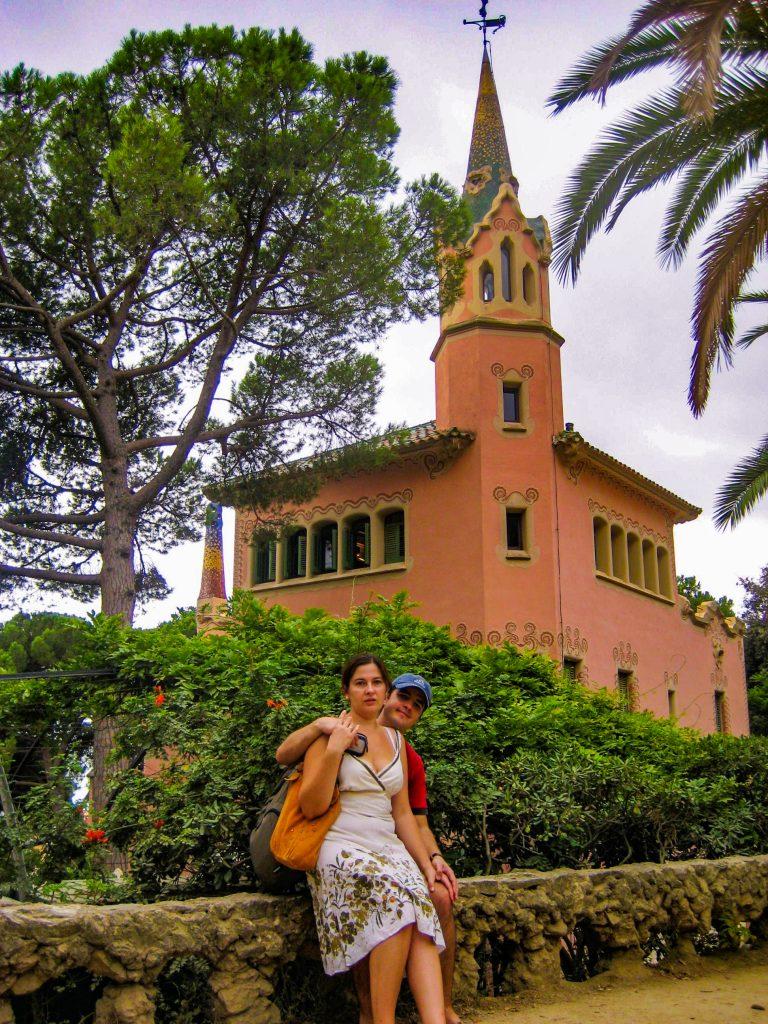Park Guell Barcelona Gaudi's house
