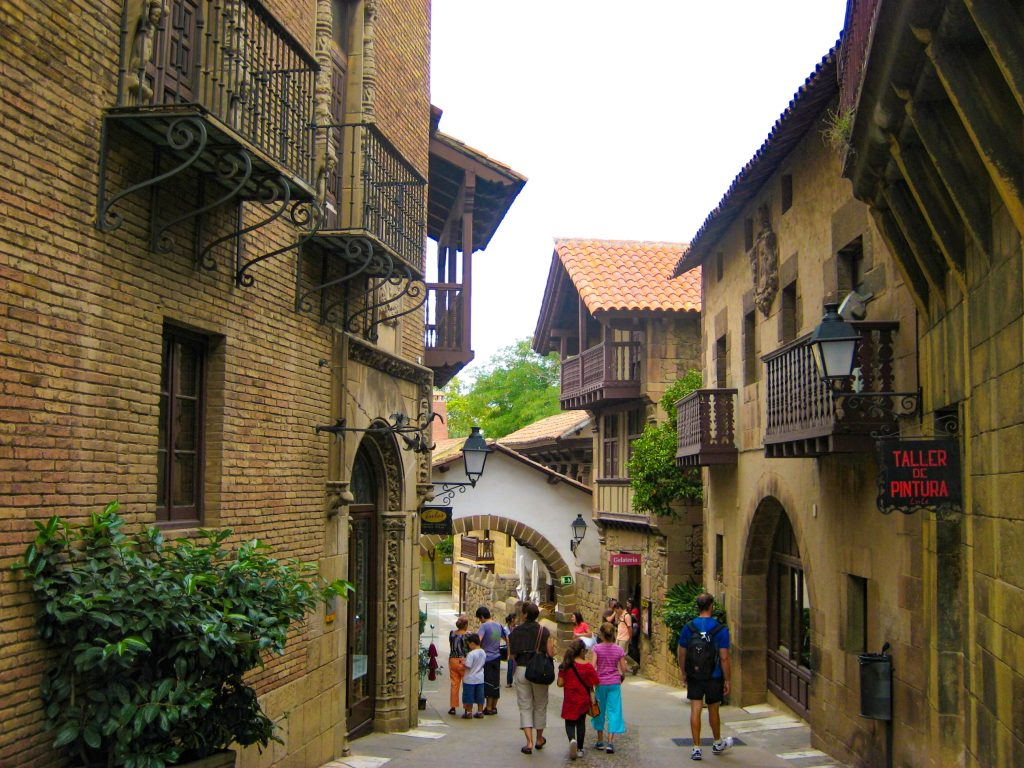 Barcelona Poble Espanyol